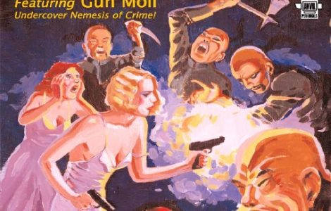 Nemesis Magazine #1: Gun Moll in Tentacles of Evil – Stephen Adams, Ed.