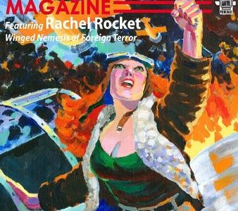 Nemesis Magazine #2: Rachel Rocket In Hell Wings Over Manhattan – Stephen Adams, Ed.