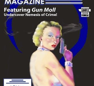 Nemesis Magazine #5: Gun Moll In Angel With No Hands – Stephen Adams, Ed.